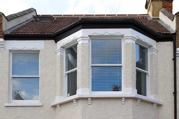 Replacement box sash windows north london box sash for Bay window installation