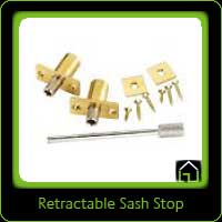 Retractable Sash Stop