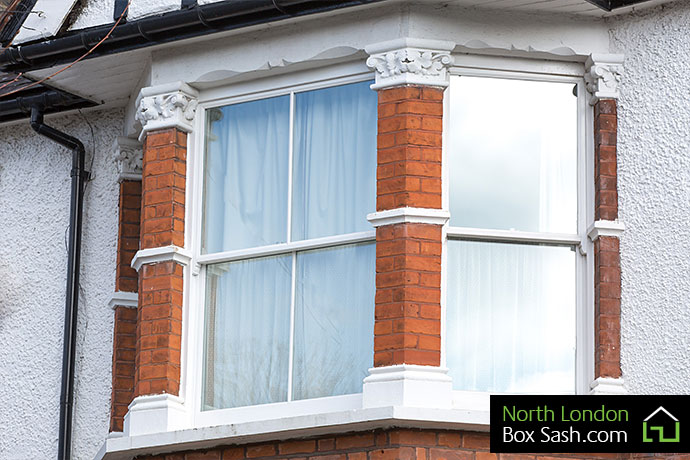 Replacement Edwardian Sash Windows North London Box Sash