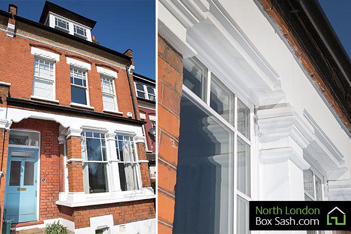 Edwardian bay windows