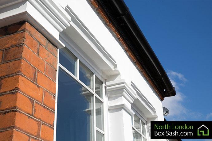 Edwardian sash windows Crouch End