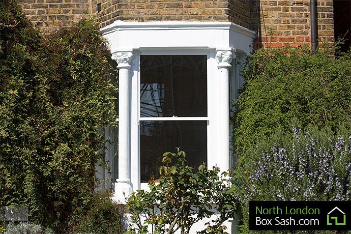 Georgian Box Sash Window