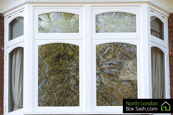 Edwardian windows Winchmore Hill