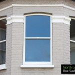 Edwardian sash windows North London N8