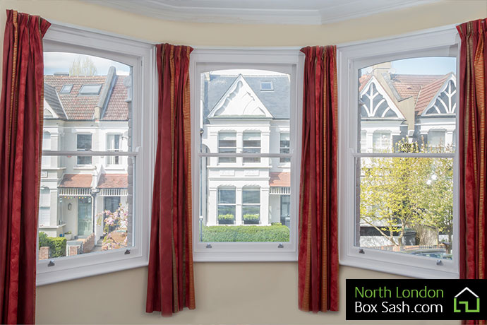 Edwardian Sash Bay WIndows